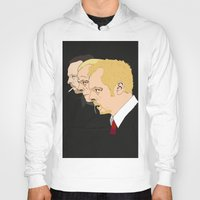 shaun of the dead Hoodies featuring Simon Pegg - Shaun Of The Dead, Hot Fuzz and The World's End by Tomcert