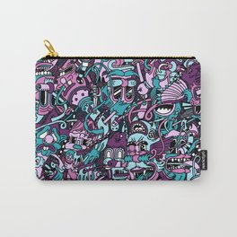 Assorted Characters Carry-All Pouch