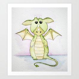 Whimsical Dragon Art Print