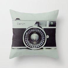 Film Camera Love: Canon Throw Pillow