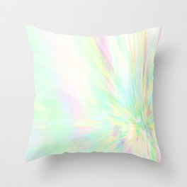 Re-Created Rapture 1 by Robert S. Lee Throw Pillow
