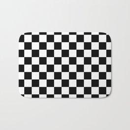 Checkered Flag Bath Mat