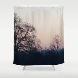 Sunset over Bedfordshire Shower Curtain