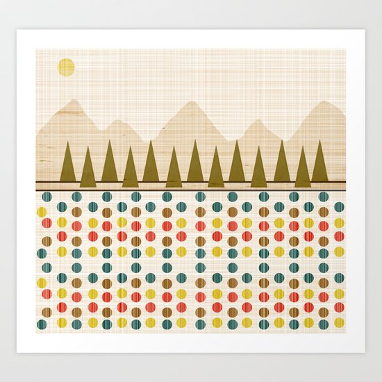 The Forest in Spring Art Print