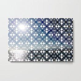 Dimensional Window Metal Print