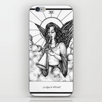 tarot iPhone & iPod Skins featuring Judgement Tarot by Corinne Elyse