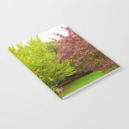 Park Bench Notebook