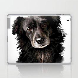 Gilmour (A Border Collie Mutt) Laptop & iPad Skin