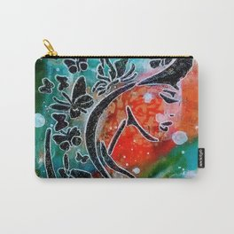 Madam Butterfly Carry-All Pouch