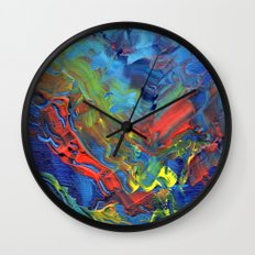 The Reef that Thrived on the Blood of Sailors Wall Clock