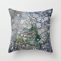 plant Throw Pillows featuring plant by gasponce