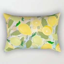 Lemon Song Rectangular Pillow