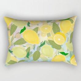 Lemon Song Rectangular Pillow