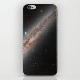 Spiral Galaxy NGC 891 iPhone Skin