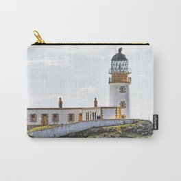 Lighthouse at Neast Point, Isle of Skye, Scotland Carry-All Pouch