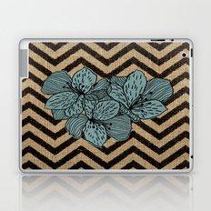 Burlap & FLowers Laptop & iPad Skin