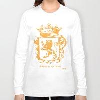 narnia Long Sleeve T-shirts featuring King by John Choi King