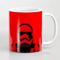 trooper Mugs featuring Trooper  by Rabassa