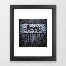 jeep logo Framed Art Print