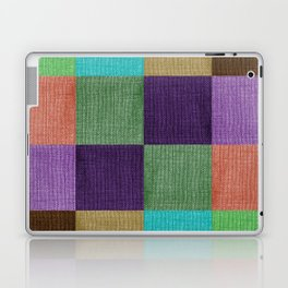 Linen Block Laptop & iPad Skin