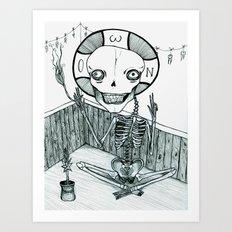 an asphodel Art Print