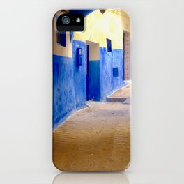 Tangier Morocco Medina iPhone Case