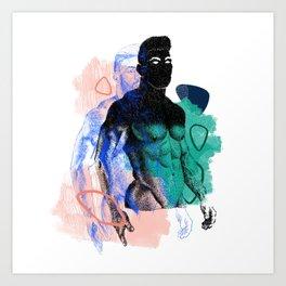 Albert Remix NOODDOOD Art Print