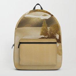 Golden Landscape Backpack