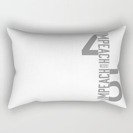 RESIST / IMPEACH 45 Rectangular Pillow