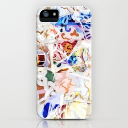 Mosaic of Barcelona VIII iPhone Case