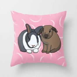 Hagrid and Molly Throw Pillow