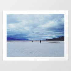 Badwater Basin Art Print