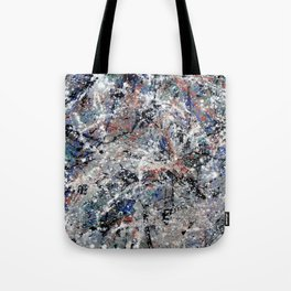 Number 3 Abstract Painting by Mark Compton Tote Bag