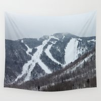 vermont Wall Tapestries featuring Killington Vermont by BACK to THE ROOTS