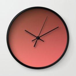 SUN MOUNTAIN - Minimal Plain Soft Mood Color Blend Prints Wall Clock