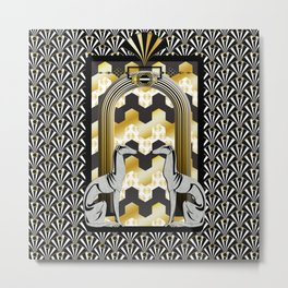 Art Deco Metal Print