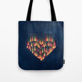 Interstellar Heart II Tote Bag