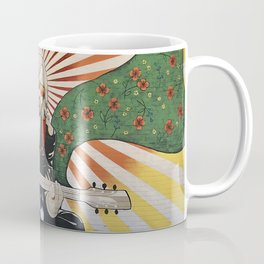 Wildflowers (Tom Petty Tribute Mural, Gainesville) // Music Rock and Roll Guitar Legendary Hall Fame Coffee Mug