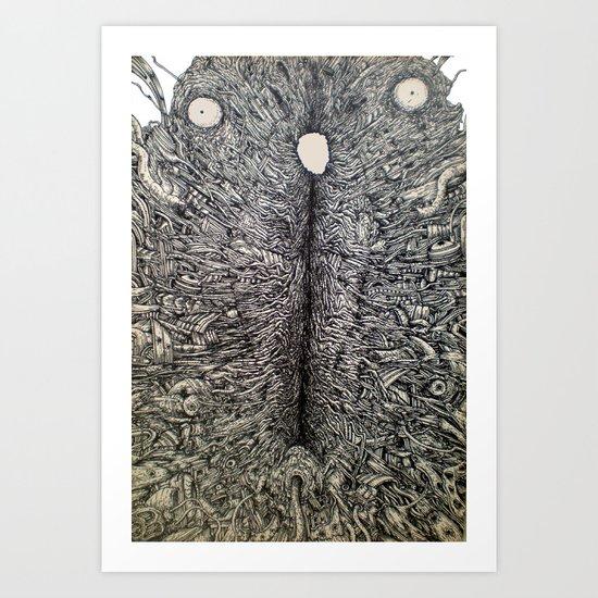 The Dark World Where I Dwell Art Print