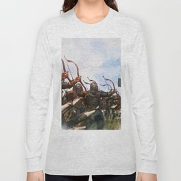 Medieval Army in Battle Long Sleeve T-shirt