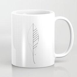 Leaf Minimal Typo Coffee Mug