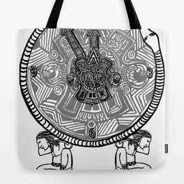 Mayan Clock Tote Bag