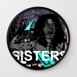 SISTERS (OP1) Wall Clock