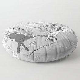 Spaghetti Western Floor Pillow