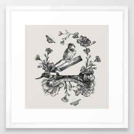 Bold as Brass Framed Art Print