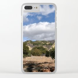 Fenceline to Skyline Clear iPhone Case