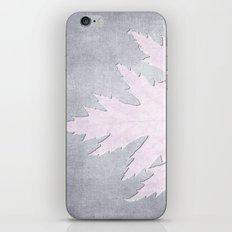 PRESSED LEAF iPhone & iPod Skin