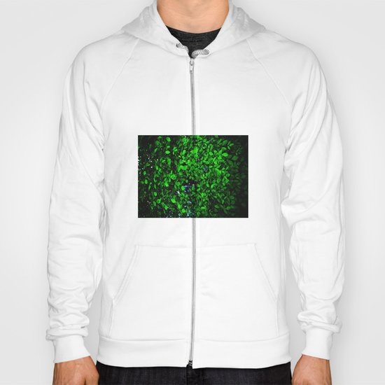 The wall of leaves Hoody