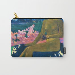 12,000pixel-500dpi - Paul Gauguin - The Seed Of The Areoi - Digital Remastered Edition Carry-All Pouch