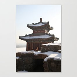 Pavilion on the Longevity Hill in the Summer Palace Canvas Print